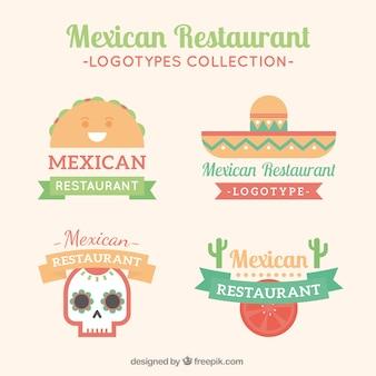Mignon restaurants mexicains logos