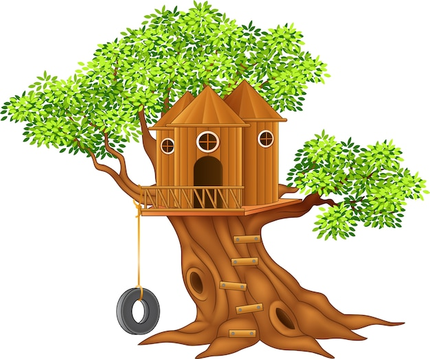 Mignonne petite maison de l'arbre