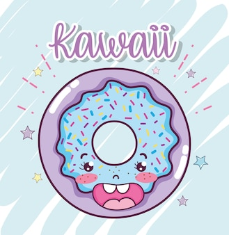 Mignons dessins animés kawaii