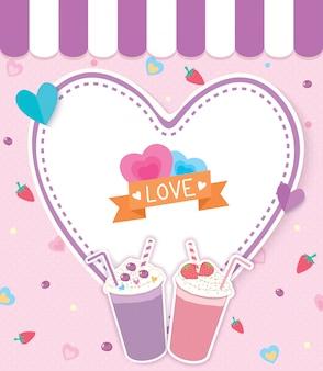 Les milkshakes aiment