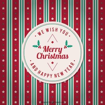 Millésime vecteur de fond merry christmas