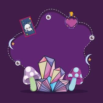 Minéraux magiques occultes