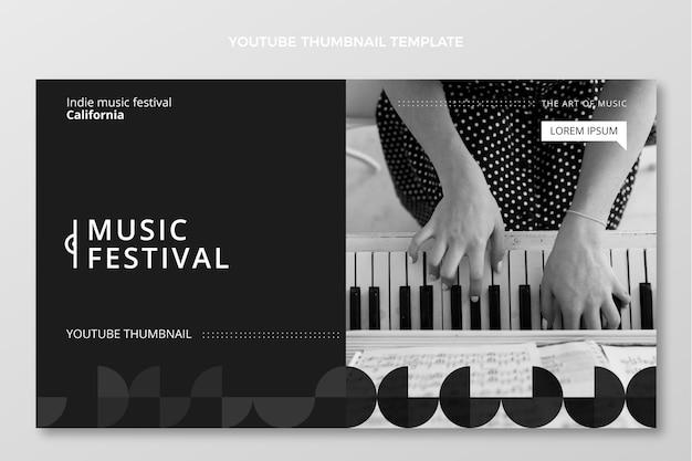 Miniature youtube du festival de musique minimal plat