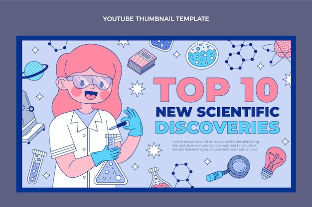 Miniature youtube science plate