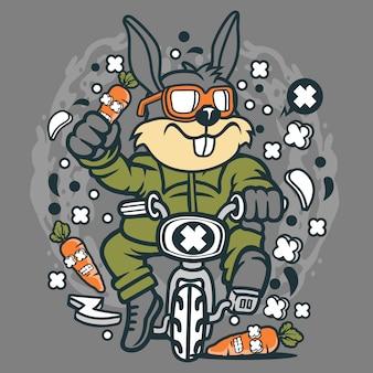 Minibike rabbit