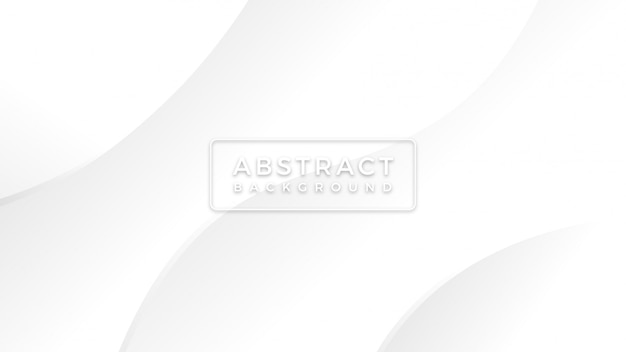 Minimaliste simple fond blanc avec fond lignes abstraites moderne élégante vague