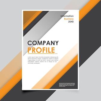 Minimalistes de modèle de brochure d'entreprise moderne