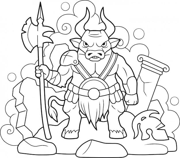Minotaure mythologique