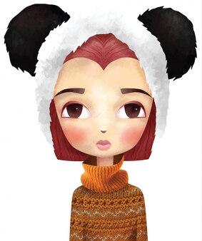 Miss panda