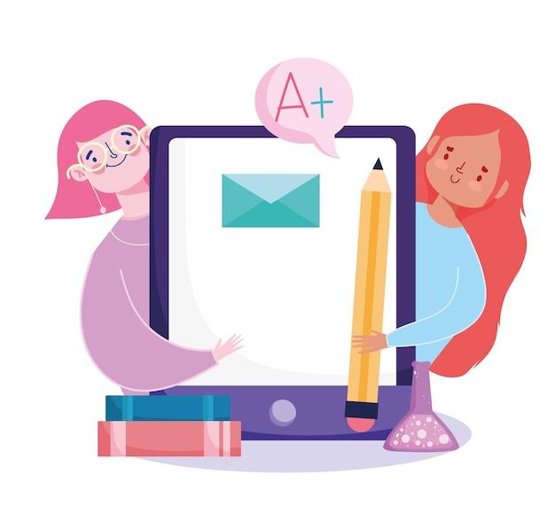 Mobile éducation en ligne