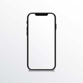 Mobile phone realistic mock up