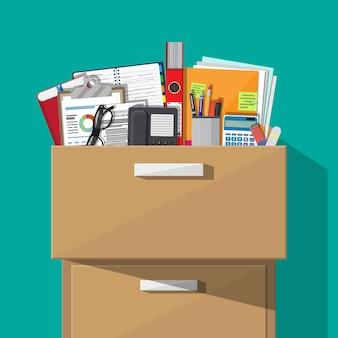 Mobilier de bureau. armoire, casier, tiroir