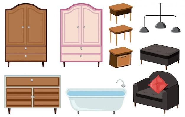 Un mobilier de maison