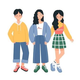 Mode jeunes coréens