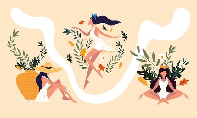 Mode de vie bien-être des femmes