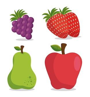 Mode de vie sain manger des fruits