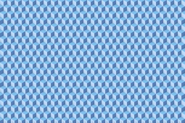 Modèle abstrait cube sans soudure