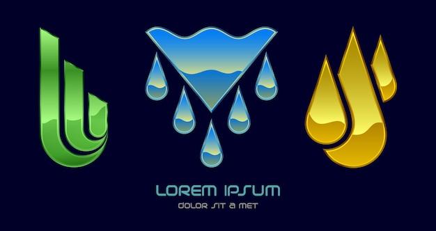 Modèle abstrait d'entreprise logo moderne, logotype hi tech infinity