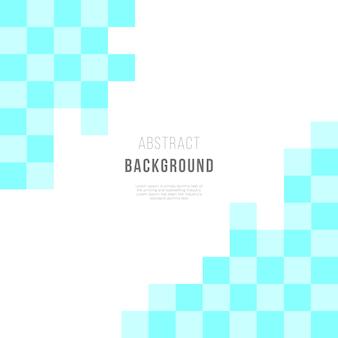 Modèle abstrait avec des formes carrées