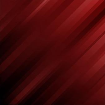 Modèle abstrait lignes géométriques fond rouge.