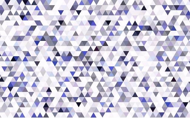 Modèle abstrait de polygone vectoriel léger bleu