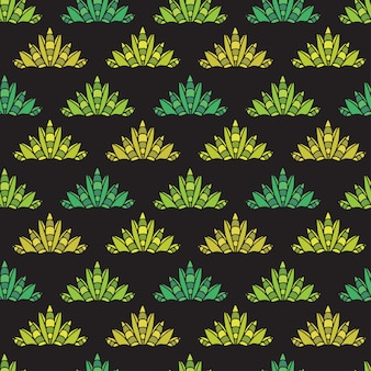 Modèle abstrait en texture transparente géométrique