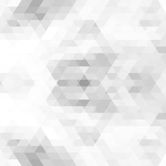 Modèle abstrait triangle gris