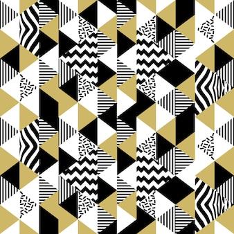 Modèle abstrait de triangle de memphis sans soudure