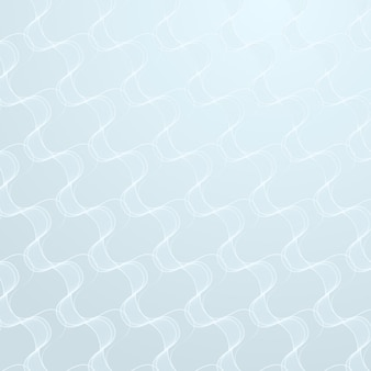 Modèle abstrait vague transparente sur un vecteur de ressources de conception de fond bleu clair