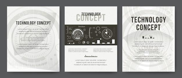 Modèle d'affaires. conception de brochure, couverture de mise en page moderne, rapport annuel, affiche, flyer. arrière-plans modernes abstraites. technologies mobiles, applications, concept infographique de services en ligne. hud, techno, affaires, ui.