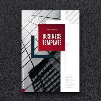 Modèle d'affaires avec photo