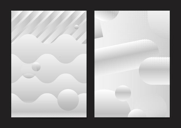 Modèle d'affiche abstraite