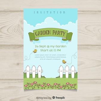 Modèle d'affiche de fête printemps printemps