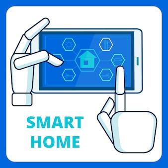 Modèle d'application smart home management