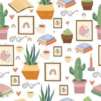 Modèle d'articles d'intérieur à la maison