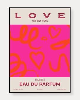 Modèle artistique universel créatif abstrait bon pour la couverture de flyer d'invitation de carte d'affiche