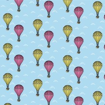 Modèle de ballon d'air