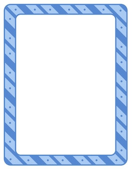 Modèle de bannière de cadre de rayures diagonales vides