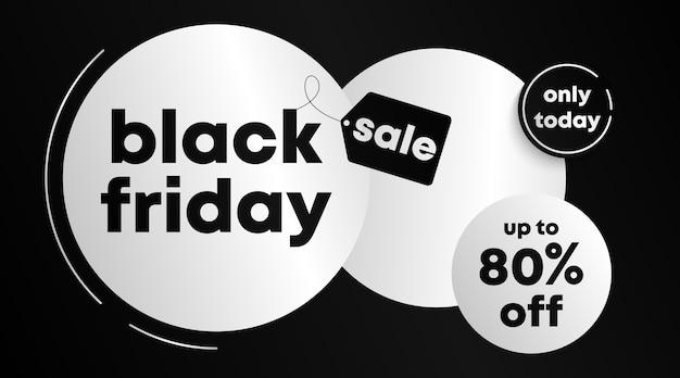 Modèle de bannière et de fond vendredi noir. modèle de flyer pour le vendredi noir.