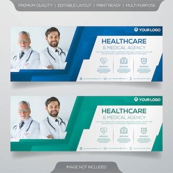 Modèle de bannière médicale