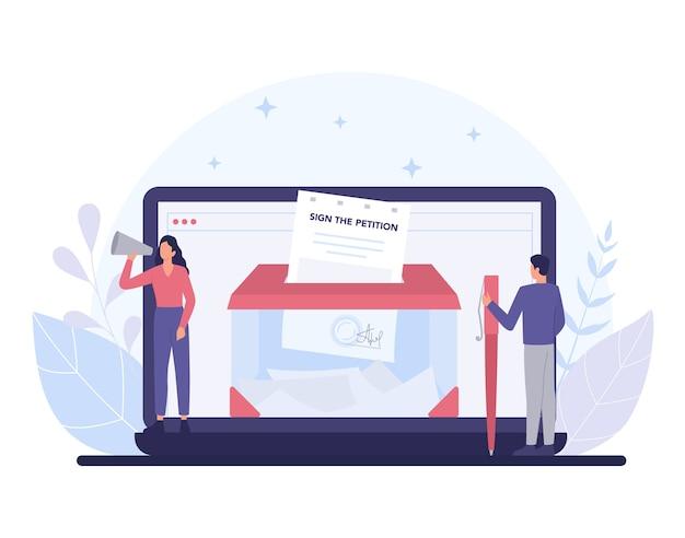 Modèle de bannière de plate-forme en ligne