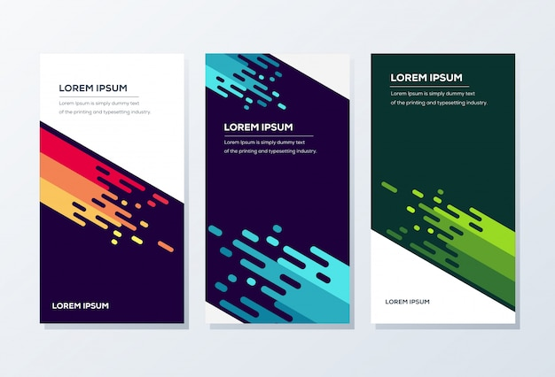 Modèle de bannière. présentation et brochure
