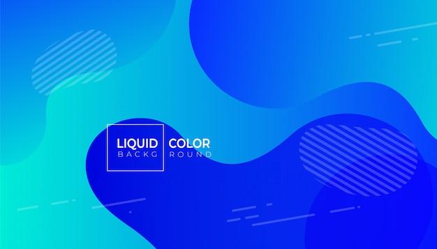 Modèle de bannière de vente d'ondes liquides en plastique