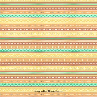 Modèle boho avec différents motifs