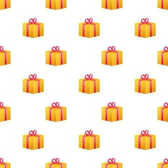 Modèle de boîte-cadeau, superbe design pour tous les usages. illustration vectorielle.