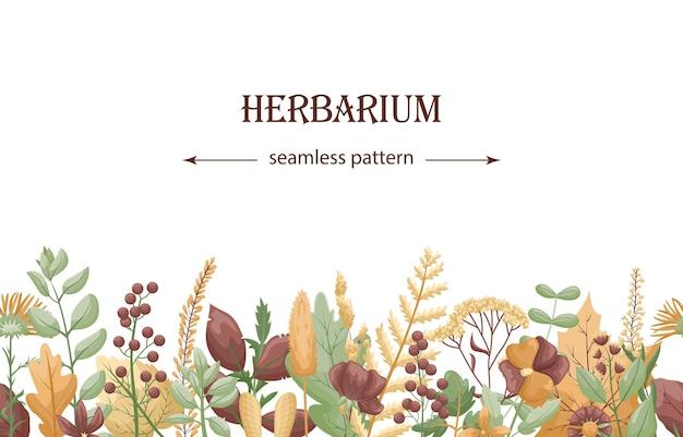 Modèle botanique avec motif transparent horizontal