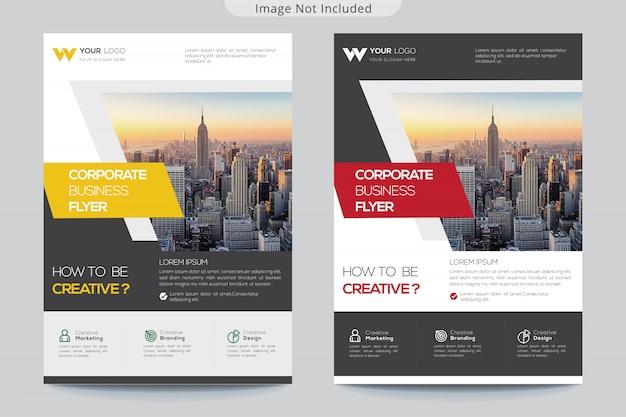 Modèle de brochure d'entreprise pour les entreprises