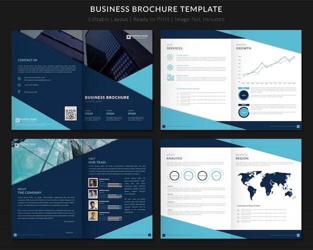 Modèle de brochure d'entreprise premium v