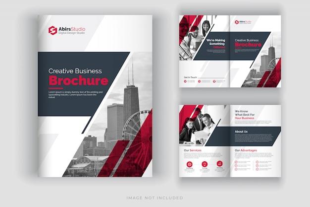 Modèle de brochure d'entreprise ou profil d'entreprise