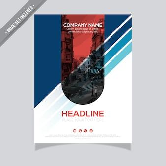 Modèle de brochure d'entreprise
